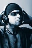 Rilassamento di musica Immagini Stock Libere da Diritti