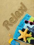 Rilassamento di vacanza Immagine Stock
