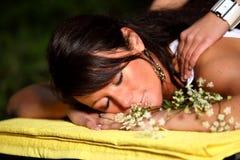Rilassamento puro Immagine Stock