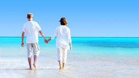 Rilassamento sulla spiaggia Immagini Stock Libere da Diritti