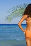 Rilassamento sulla vacanza di estate fotografie stock libere da diritti