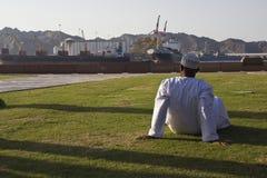 Rilassandosi nell'Oman Immagine Stock Libera da Diritti
