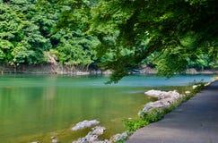 Rilassare-a-arashiyama fotografia stock libera da diritti