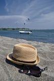Rilassi alla spiaggia Fotografia Stock Libera da Diritti