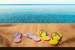Rilassi alla spiaggia Fotografia Stock