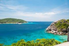 Rilassi alle isole Immagine Stock