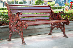 Rilassi la sedia in parco Immagine Stock