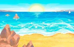Rilassi sulla spiaggia immagini stock
