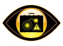 Rilevazione degli esplosivi Fotografie Stock