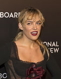 Riley Keough Sparkles at NBR Film Awards Gala Royalty Free Stock Image