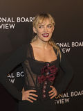 Riley Keough Sparkles no filme de NBR concede a gala Foto de Stock Royalty Free