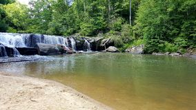 Riley Moore Falls. South Carolina swimming hole Stock Photography