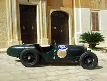 Vintage Racing Car Royalty Free Stock Image