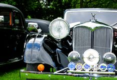 Riley vintage car Royalty Free Stock Photography