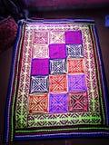 Rili een traditioneel Sindhi-Dekbed royalty-vrije stock afbeeldingen