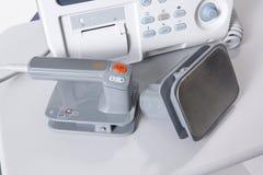 Rilievi del defibrillatore Immagine Stock Libera da Diritti