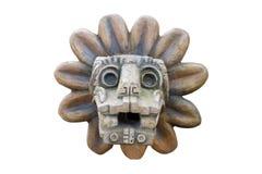 Rilievo azteco antico fotografia stock