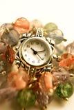 In rilievo d'argento Fotografia Stock