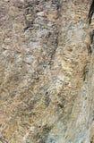 Rilievo del primo piano delle rocce Fotografia Stock