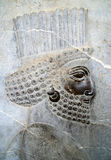 Rilievo di Persepolis Bas fotografia stock libera da diritti