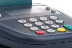 Rilievo di Pin - colpo della carta di credito immagine stock