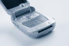 Rilievo di tasto del telefono delle cellule Fotografia Stock Libera da Diritti