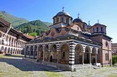 Rilski monastery Stock Images