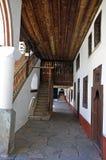 Rilski porch Stock Photo