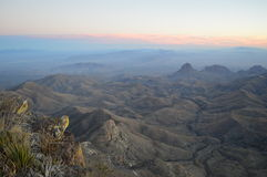 Rim Big Bend National Park du nord images libres de droits