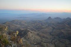 Rim Big Bend National Park du nord Images libres de droits