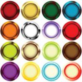 Rim buttons Stock Image