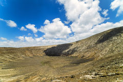 The rim of Caldera Blanca Stock Images