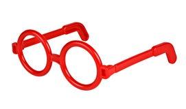 Rim glasses isolated on white Stock Photos