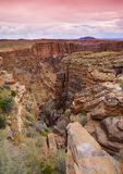 Rim Grand Canyon del sur, Arizona, los E.E.U.U. Imagen de archivo