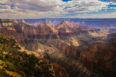 Rim Grand Canyon norte, o Arizona, EUA Foto de Stock