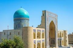 RIM mim madrassa árabe, Bukhara Fotos de Stock Royalty Free