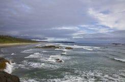 Rim National Park pacifico, isola di Vancouver, Columbia Britannica Immagine Stock