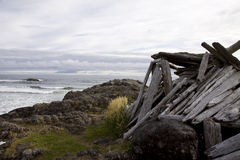 Rim National Park pacifico, isola di Vancouver, Columbia Britannica Fotografia Stock