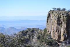 Rim Trail sul, parque nacional de curvatura grande fotografia de stock royalty free
