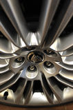 Rim from Wheel of a Jaguar car Stock Images