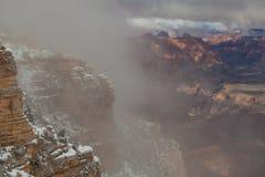 Rim Winter Storm du sud scénique photos libres de droits