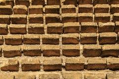 Rimanendo del muro di mattoni Immagini Stock