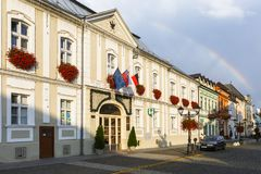 Rimavska Sobota, Словакия Стоковое Фото