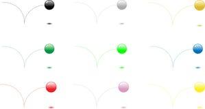Rimbalzo del Balls1 illustrazione di stock