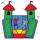 Rimbalzo del castello royalty illustrazione gratis