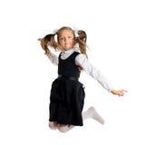 Rimbalzo della bambina fotografie stock libere da diritti