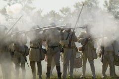 Rimessa in vigore dell'attacco ai Redoubts 9 & 10 Fotografia Stock Libera da Diritti