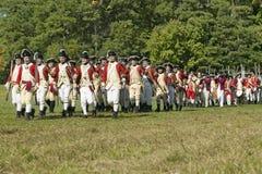 Rimessa in vigore dell'attacco ai Redoubts 9 & 10, Fotografie Stock
