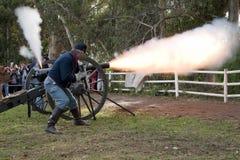 Rimessa in vigore di guerra civile di Moorpark Fotografia Stock