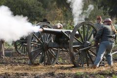 Rimessa in vigore di guerra civile di Moorpark Fotografie Stock